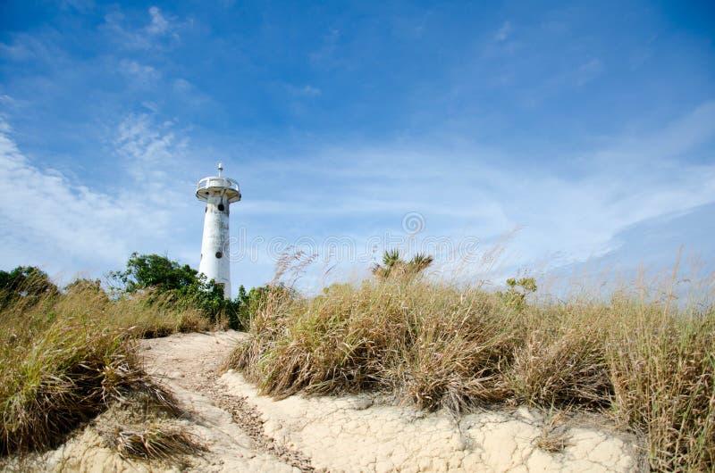 Faro de Tailandia de las islas de Lanta foto de archivo