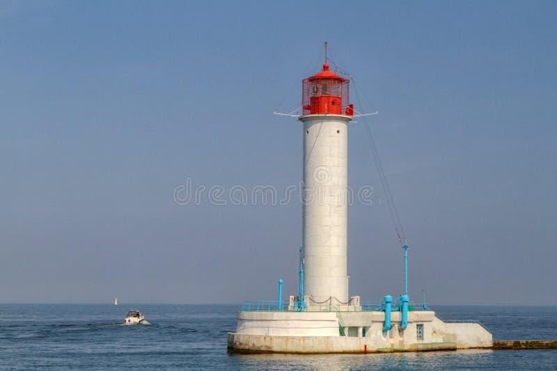 Download Faro de Vorontsovsky foto de archivo. Imagen de bahía - 41919578