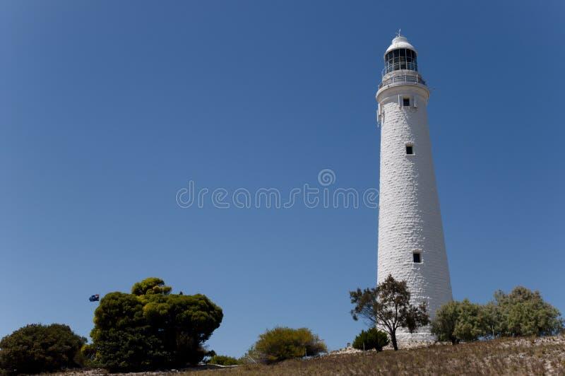 Faro de Wadjemup - Australia imagenes de archivo