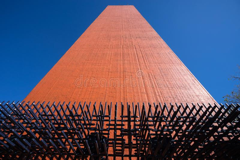 Faro del Comercio Monterrey México foto de archivo