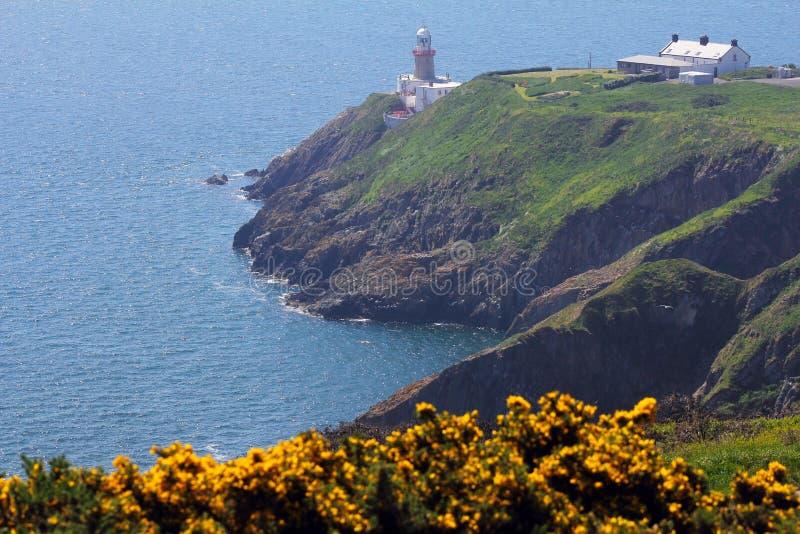 Faro del irlandés de Baily fotos de archivo
