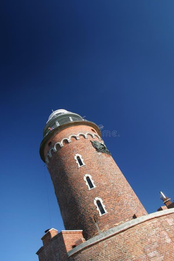 Faro del Kolobrzeg immagine stock