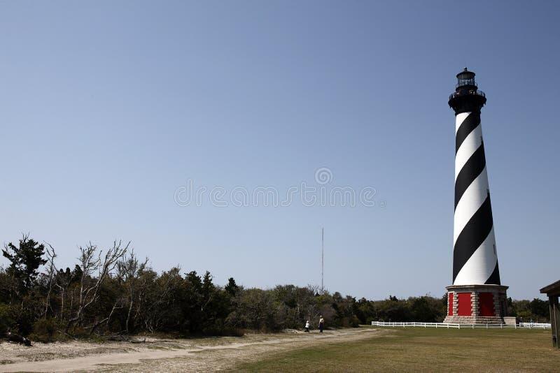 Faro del North Carolina fotografie stock