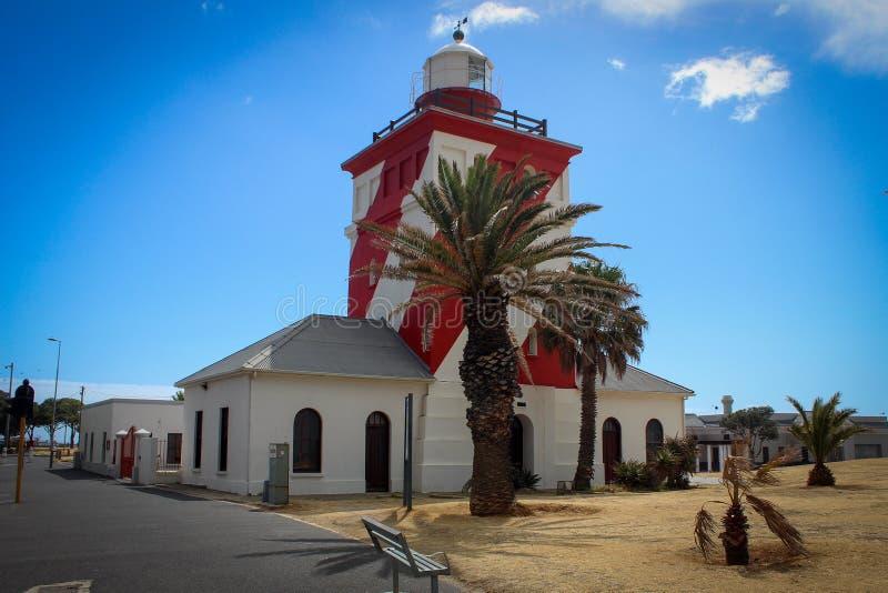 Faro del parco verde del punto a Cape Town fotografie stock