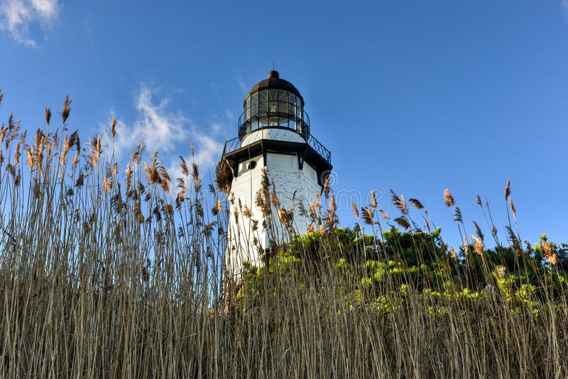 Faro del punto di Montauk - New York fotografie stock libere da diritti