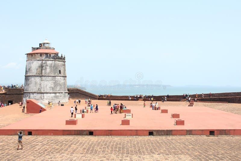 Faro del XVII secolo immagini stock libere da diritti