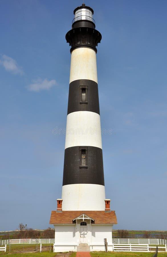 Faro dell'isola del Bodie fotografia stock