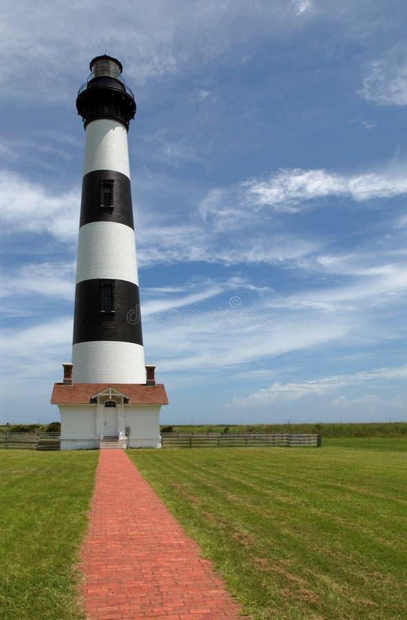 Faro dell'isola del Bodie fotografia stock libera da diritti