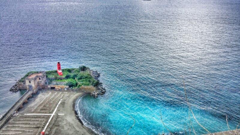 Faro dell'Italia fotografia stock