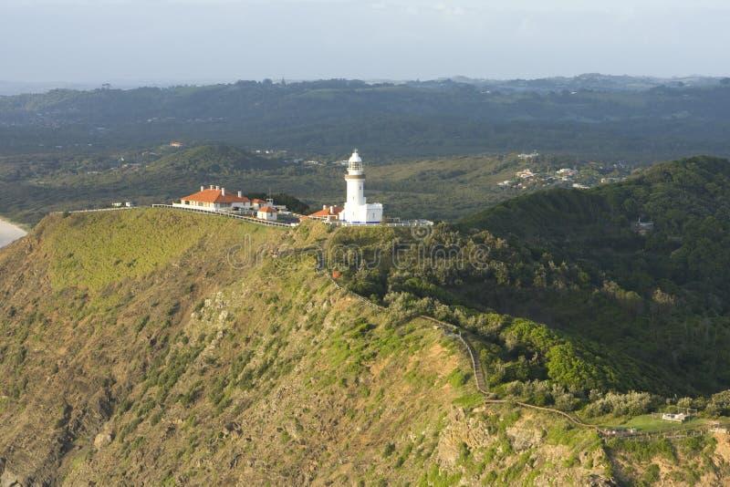 Faro della baia di Byron immagine stock libera da diritti