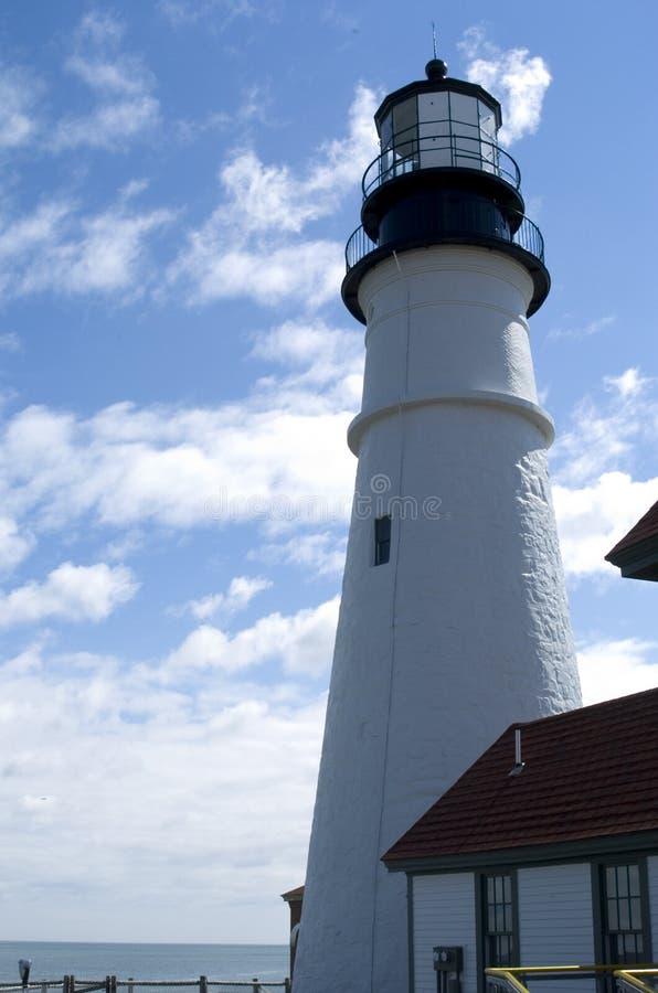 Faro della Maine fotografia stock libera da diritti