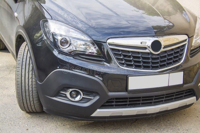 Faro della parte anteriore di Opel Mokka fotografie stock libere da diritti