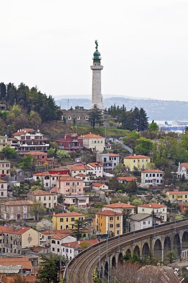Download Faro della Vittoria stock photo. Image of venice, district - 24729842