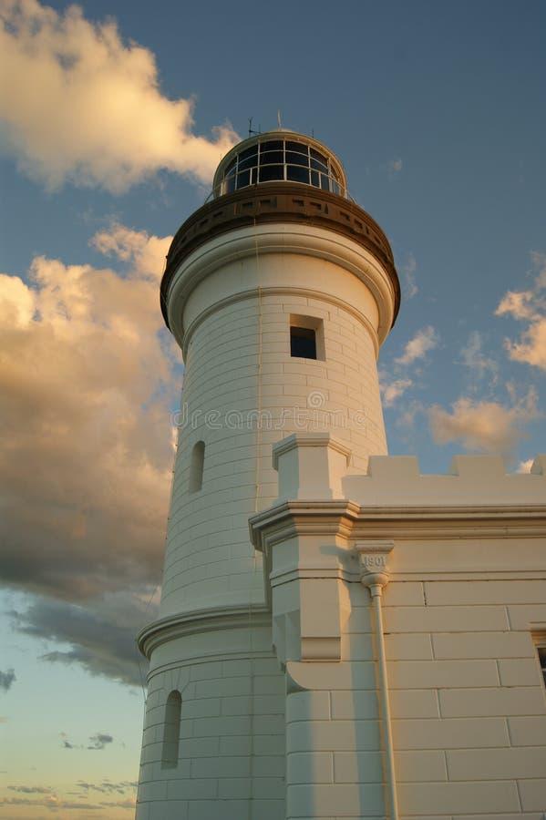 Faro di Byron Bay al crepuscolo immagini stock