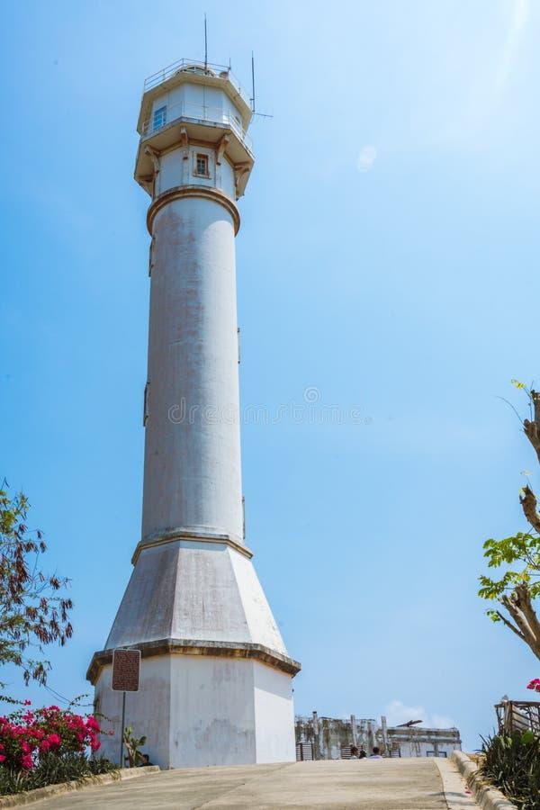Faro di cento anni a piena vista immagine stock libera da diritti