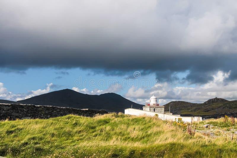 Faro di Cromwell fotografia stock libera da diritti