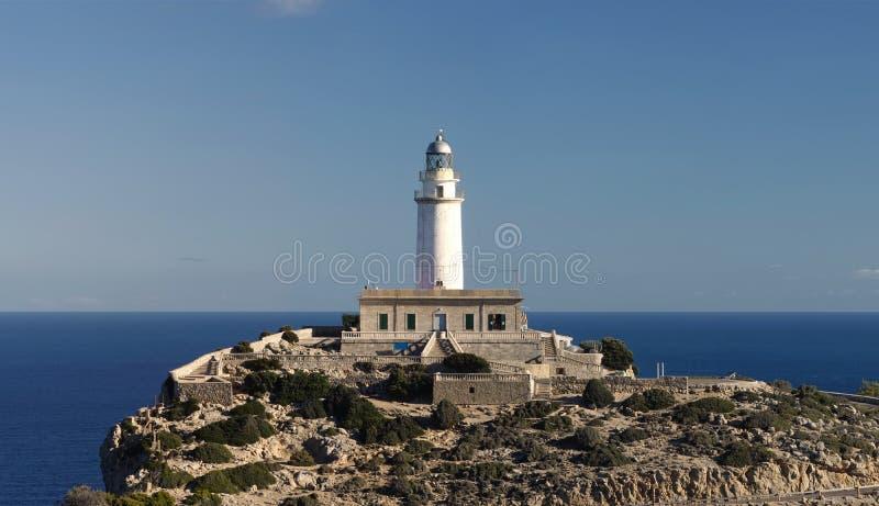 Faro di Formentor in Majorca fotografia stock