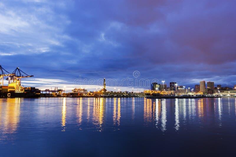 Faro di Genova, Italia immagine stock libera da diritti