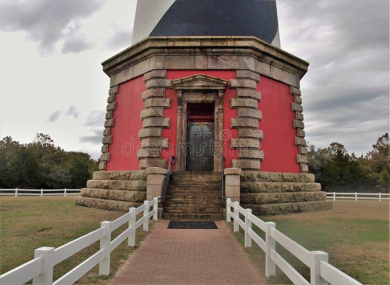 Faro di Hatteras del capo del ` s della Nord Carolina fotografia stock