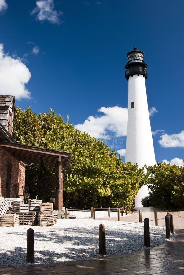 Faro di Key Biscayne immagine stock libera da diritti