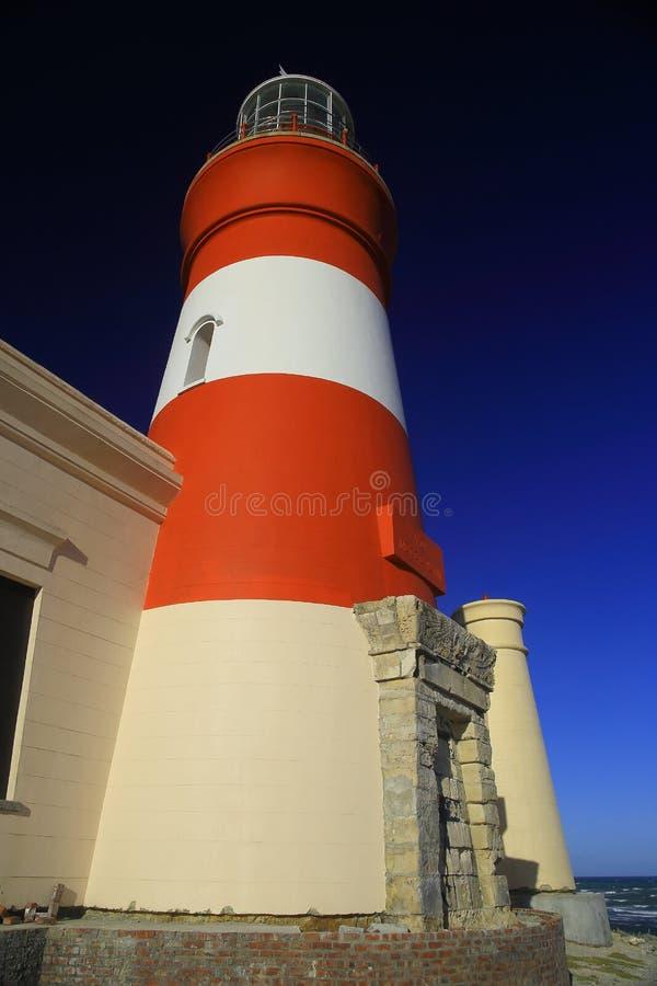 Faro di L'Agulhas del capo (iii) fotografie stock