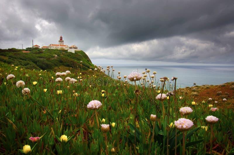 Faro di Roca fotografie stock libere da diritti