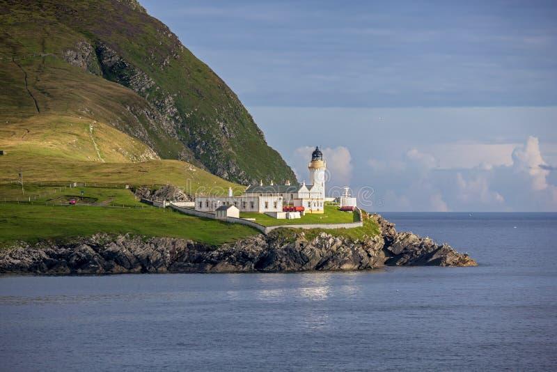 Faro 2 di Shetland immagini stock libere da diritti