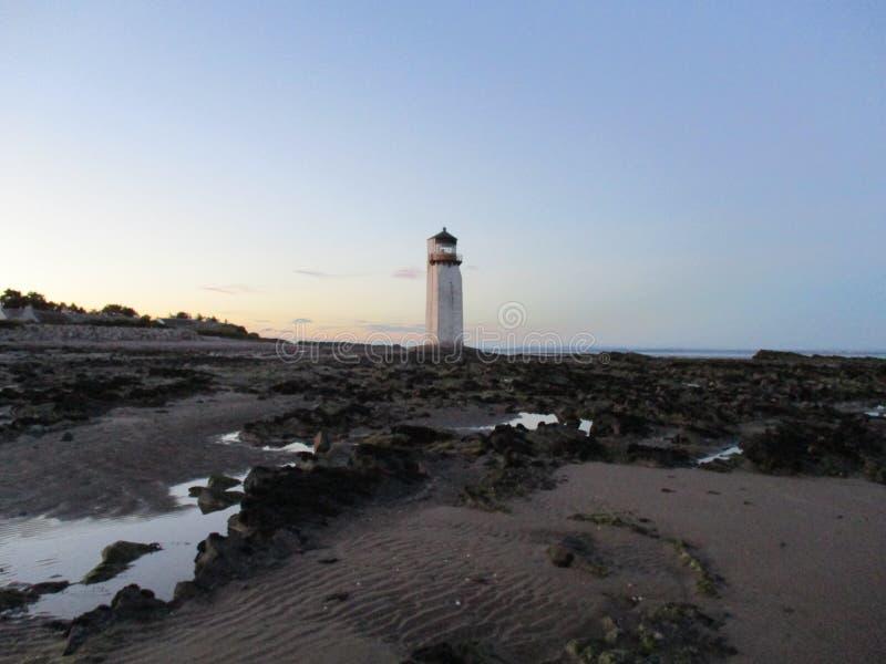 Faro di Southerness immagine stock libera da diritti