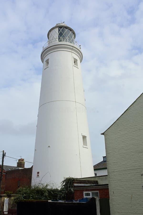 Faro di Southwold, Suffolk, Regno Unito immagini stock