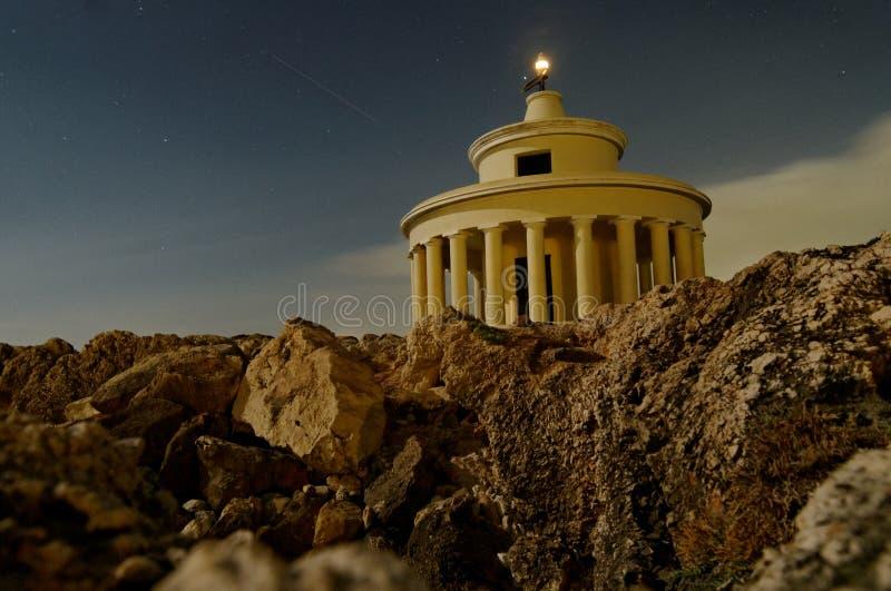Faro di Theodoroi del san, Grecia immagine stock
