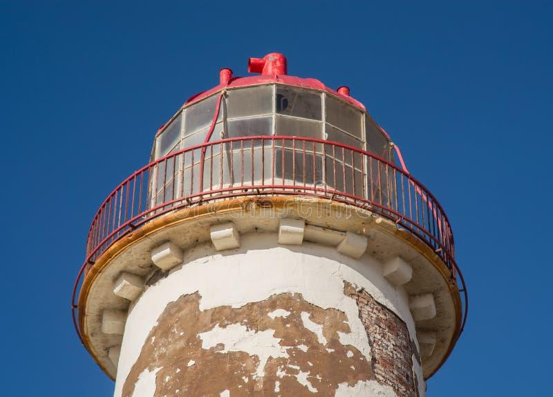 Faro in disuso fotografie stock libere da diritti