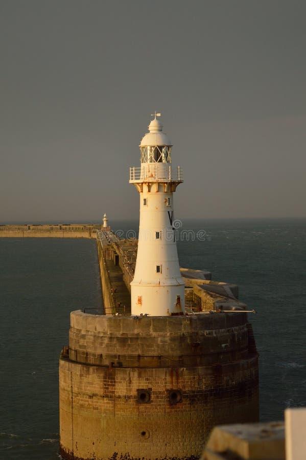 Faro a Dover, Regno Unito immagini stock libere da diritti