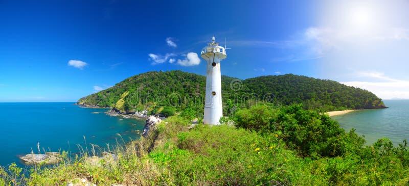 Faro e sosta nazionale di KOH Lanta, Krabi, immagini stock