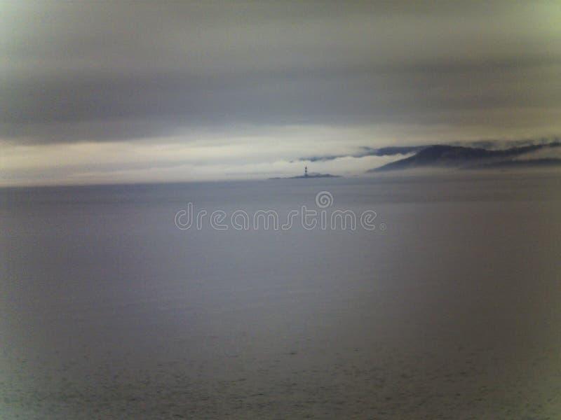 Faro en Alaska fotografía de archivo libre de regalías
