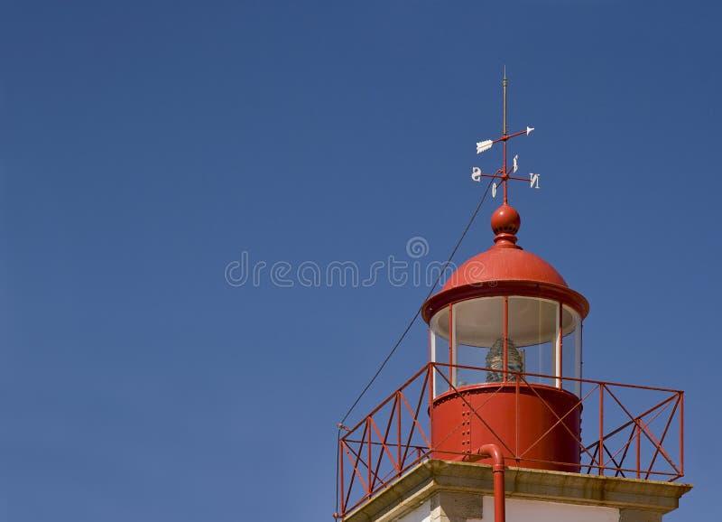 Faro en Cabo Carvoeiro, Algarve, Portugal imagen de archivo libre de regalías