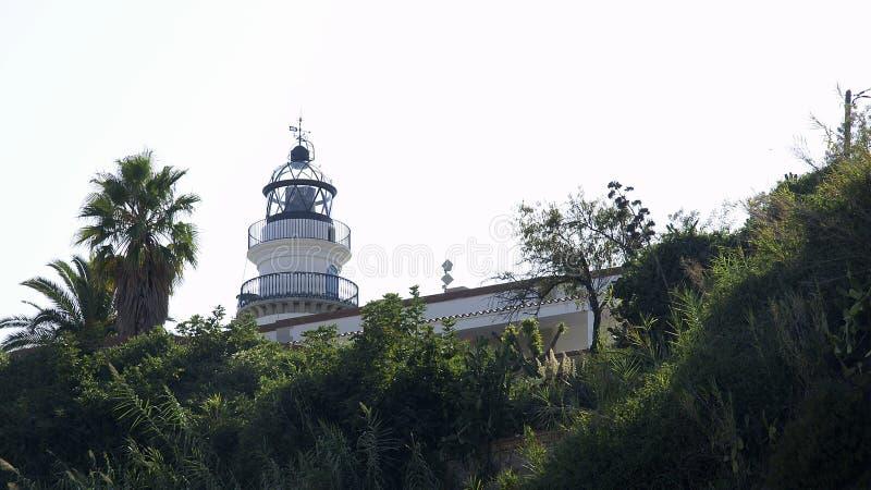Faro en Calella fotos de archivo libres de regalías