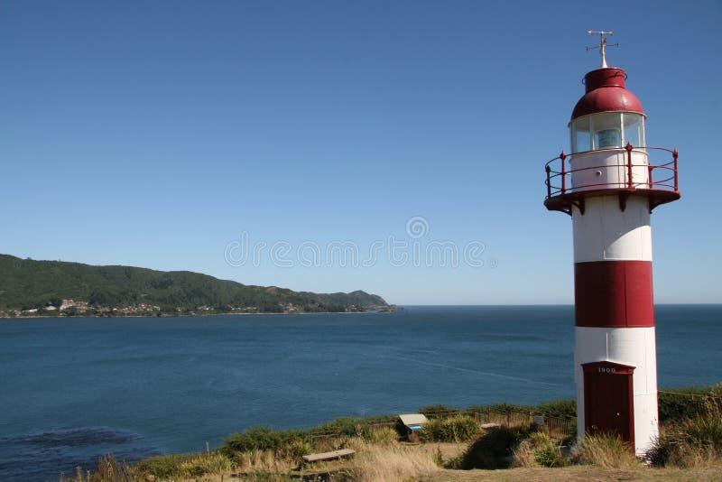 Faro en Chile imágenes de archivo libres de regalías