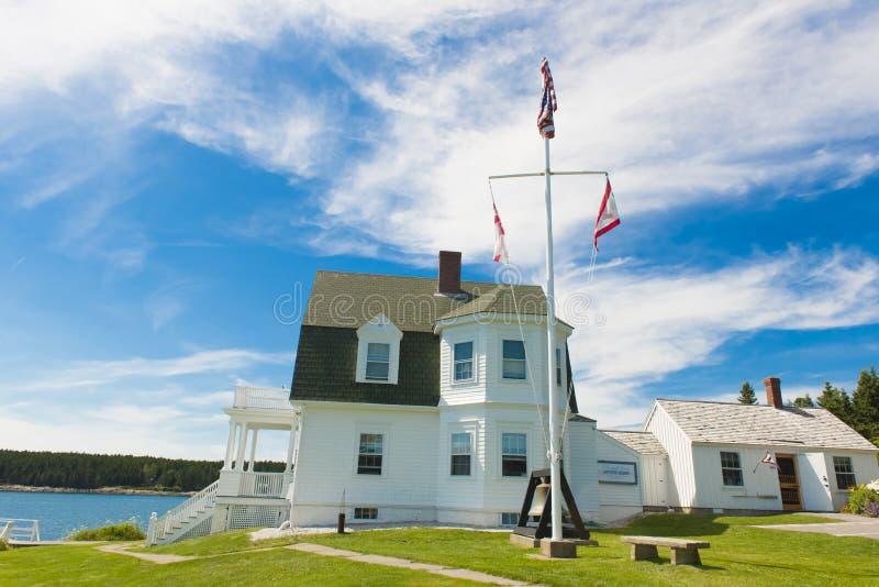 Faro en Maine fotografía de archivo libre de regalías