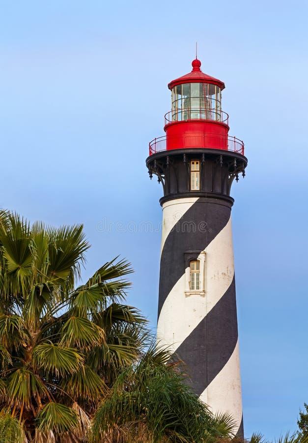 Faro en St Augustine, la Florida imagen de archivo