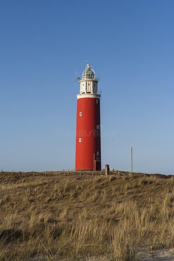 Faro en Texel imagen de archivo libre de regalías