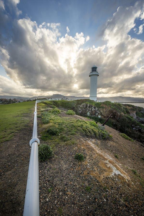 Faro en Wollongong Australia imágenes de archivo libres de regalías