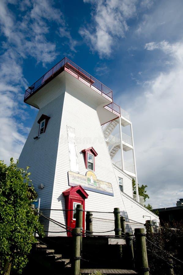 Faro - Fredericton - Canadá imagen de archivo