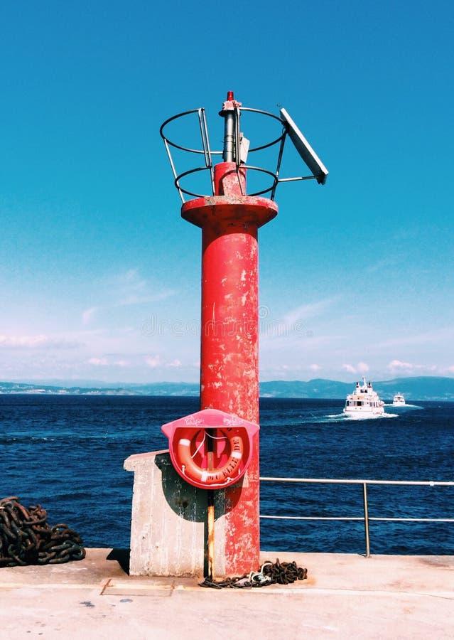 Faro gallego imágenes de archivo libres de regalías