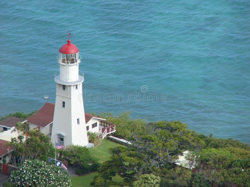 Faro in Hawai fotografia stock libera da diritti