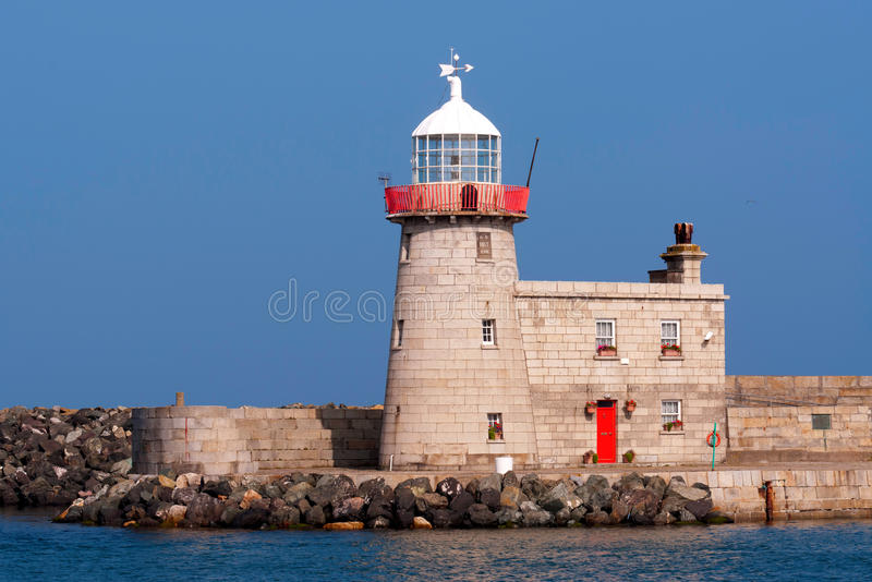 Faro in Irlanda immagine stock libera da diritti
