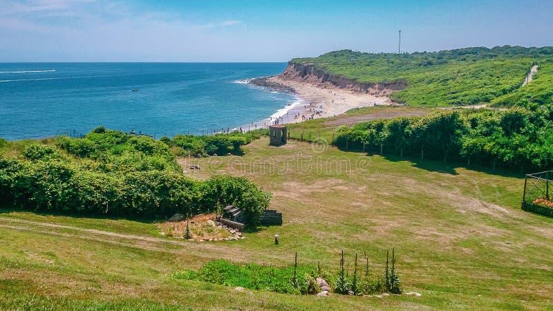 Faro Long Island New York del punto di Montauk immagine stock