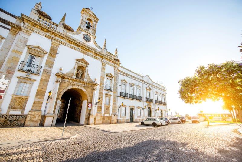 Faro miasto w Portugalia zdjęcia stock