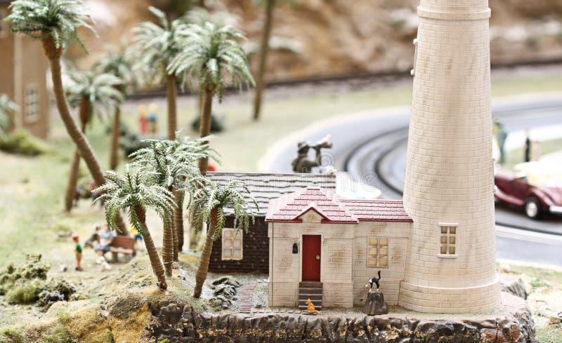 Faro miniatura imágenes de archivo libres de regalías