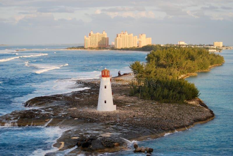 Faro Nassau Bahamas imagenes de archivo
