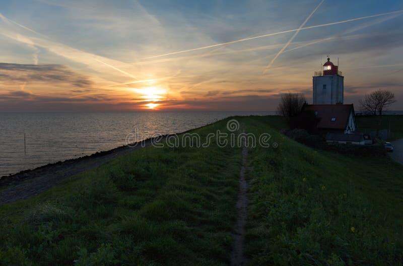 Faro olandese immagini stock libere da diritti